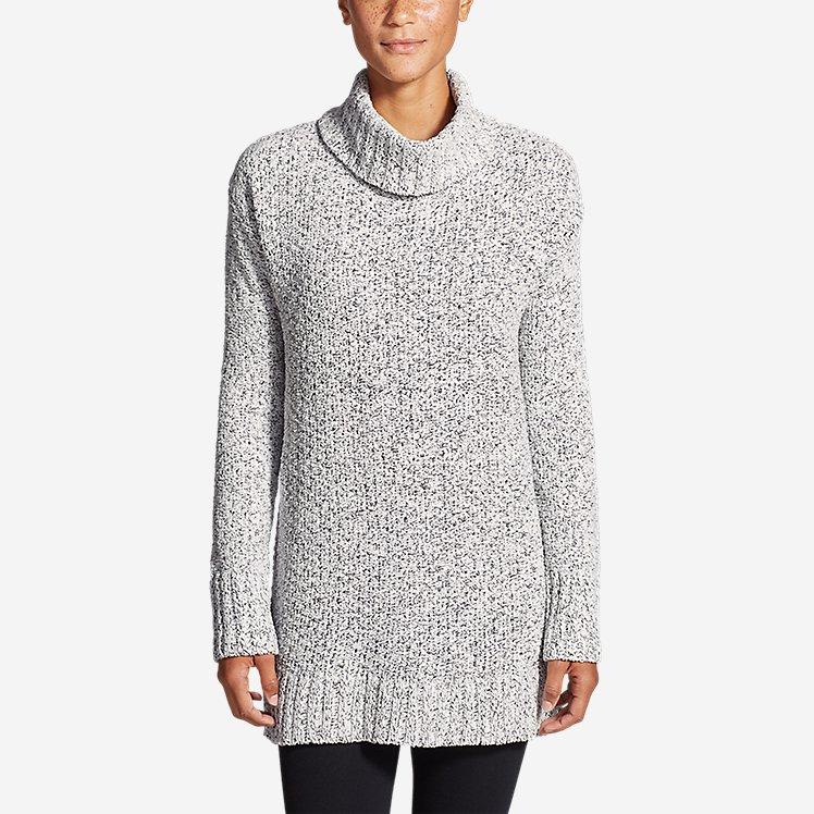Women's Lounge Around Turtleneck Sweater large version
