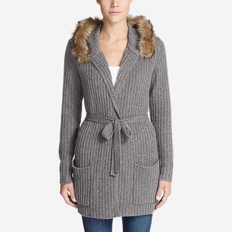 Women's Aurora Wrap Cardigan Sweater large version