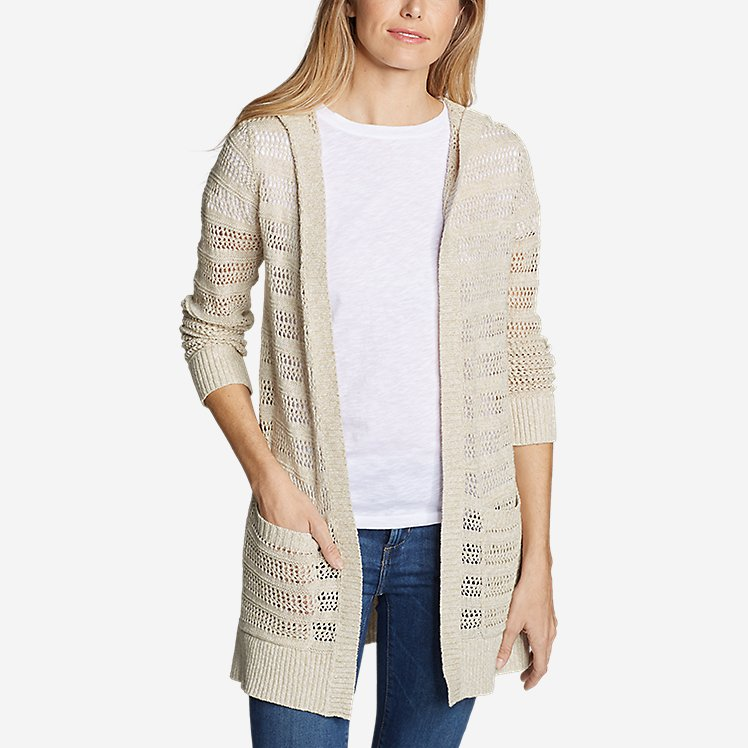 Women's Sandshore Hooded Cardigan Sweater large version