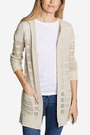 Women's Sandshore Hooded Cardigan Sweater