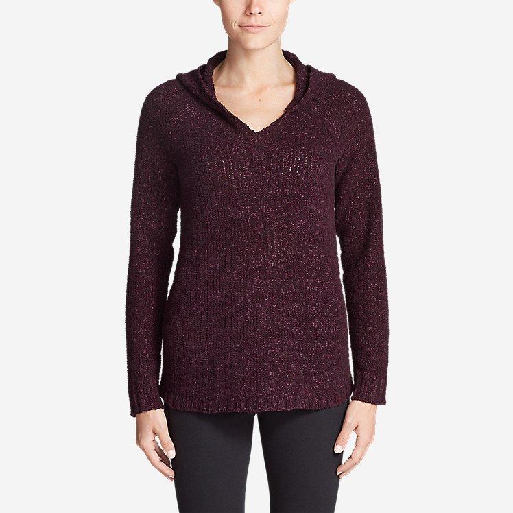 Women's Lounge Around Hoodie Sweater large version