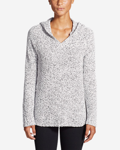Women's Lounge Around Hoodie Sweater by Eddie Bauer