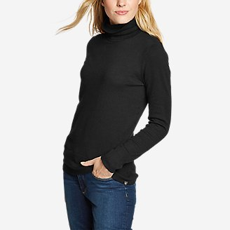 Thumbnail View 1 - Women's Christine Tranquil Turtleneck Sweater