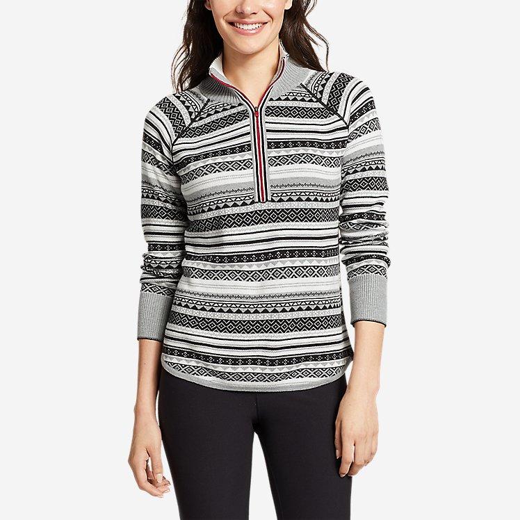 Women's Engage 1/4-Zip Sweater large version