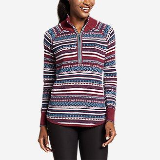 Thumbnail View 1 - Women's Engage 1/4-Zip Sweater