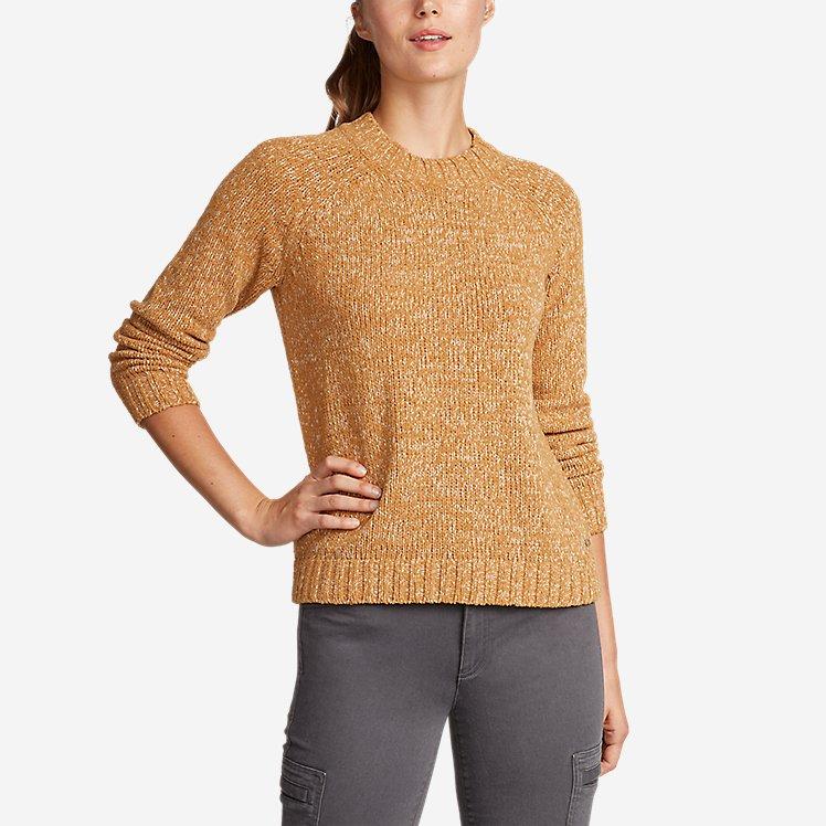 Women's Lounge Around Pullover Crew Sweater large version