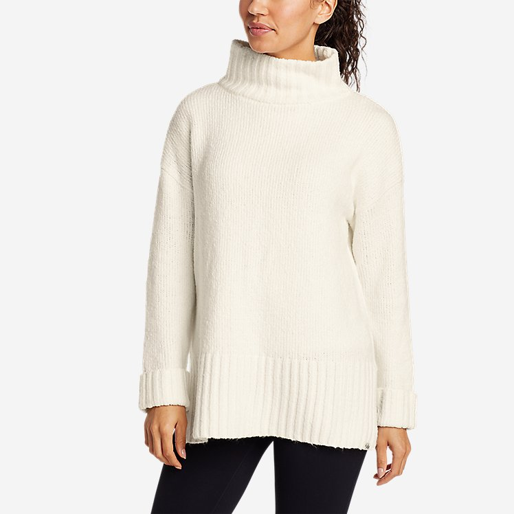 Women's Lounge Funnel-Neck Sweater large version