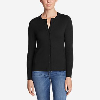 Thumbnail View 1 - Women's Christine Cardigan Sweater - Solid