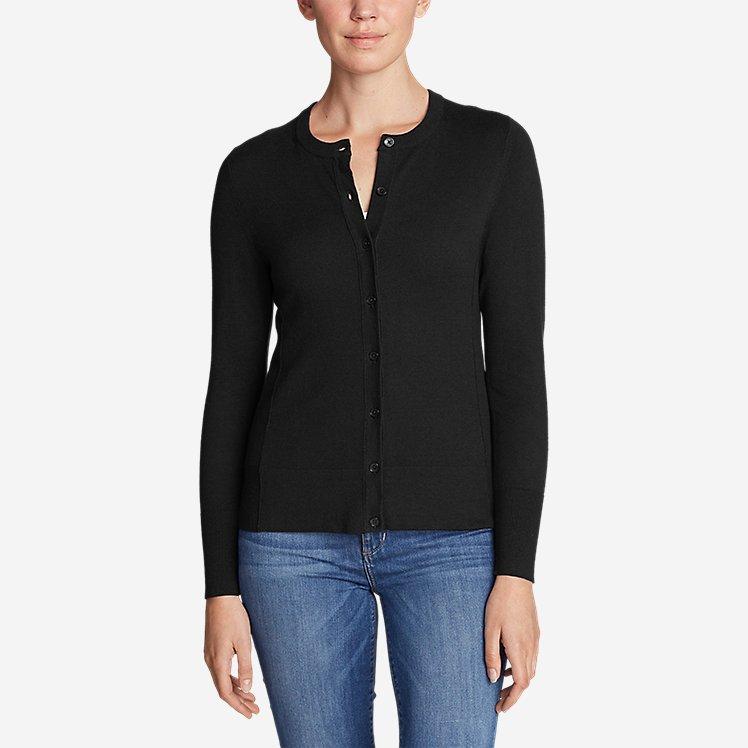 Women's Christine Cardigan Sweater - Solid large version