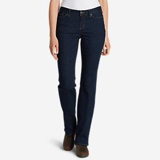 Thumbnail View 1 - Women's StayShape® Boot Cut Jeans - Curvy