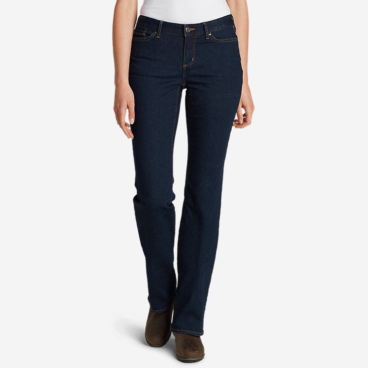 Women's StayShape® Boot Cut Jeans - Curvy large version