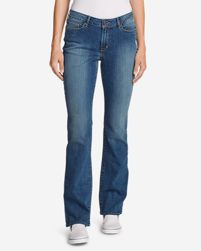 b889052243df9 StayShape Straight Curvy Boot Cut Jean