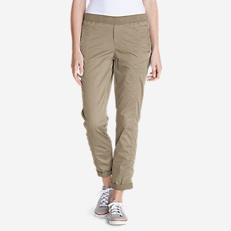 Thumbnail View 1 - Women's Kick Back Twill Pants