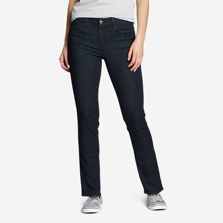 Women's Elysian Slim Straight Jeans - Slightly Curvy large version