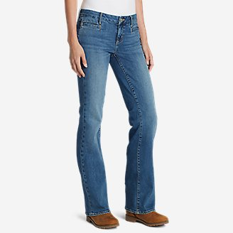 Thumbnail View 1 - Women's Elysian Flare Jeans - Slightly Curvy