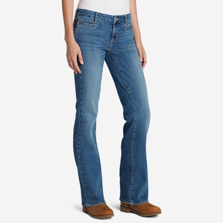 Women's Elysian Flare Jeans - Slightly Curvy large version