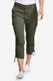 b4d2f205 Women's Adventurer® Stretch Ripstop Crop Cargo Pants - Slightly Curvy