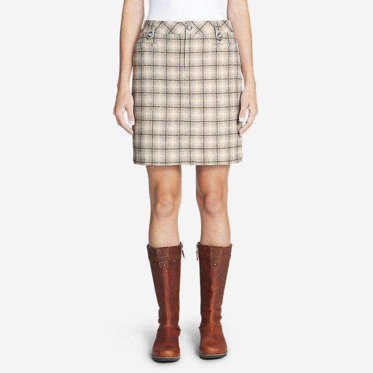Women's Classic Wool-Blend Skirt - Pattern large version