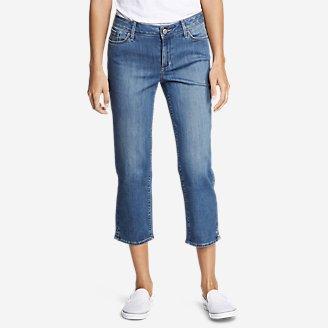 Thumbnail View 1 - Women's Elysian Crop Jeans - Curvy