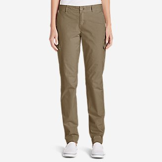 Adventurer® Stretch Ripstop Cargo Pants   Slightly Curvy by Eddie Bauer