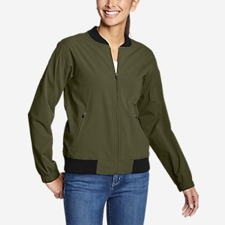 Thumbnail View 1 - Women's Voyager Bomber Jacket