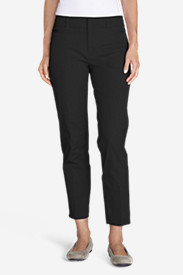 Women's StayShape® Twill Ankle Pants