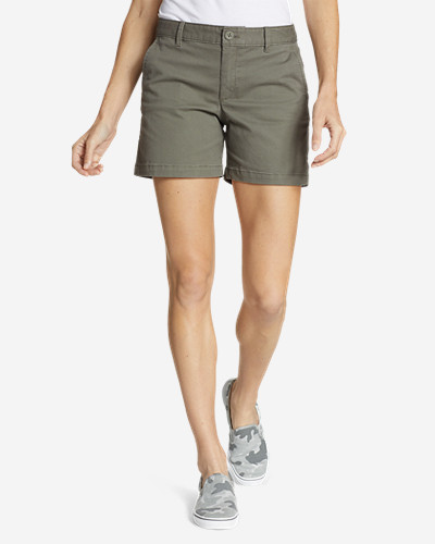 Eddie Bauer Women's Willit Stretch Legend Wash Shorts - 5 Inch