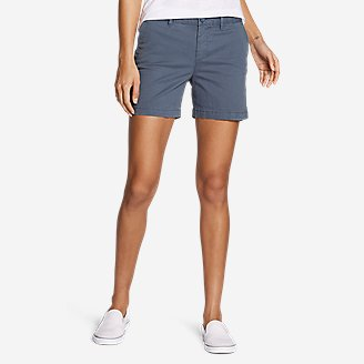 Thumbnail View 1 - Women's Willit Stretch Legend Wash Shorts - 5""