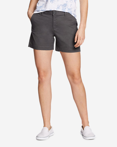 Eddie Bauer Women's Willit Legend Wash Stretch Shorts - 5 Inch