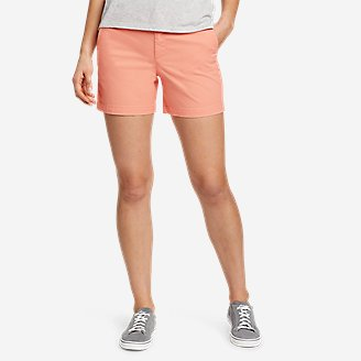 "Thumbnail View 1 - Women's Willit Stretch Legend Wash Shorts - 5"""