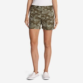 Thumbnail View 1 - Women's Willit Stretch Legend Wash Shorts - Print, 5""