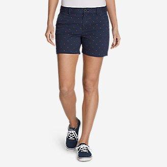 "Thumbnail View 1 - Women's Willit Stretch Legend Wash Shorts - Print, 5"""