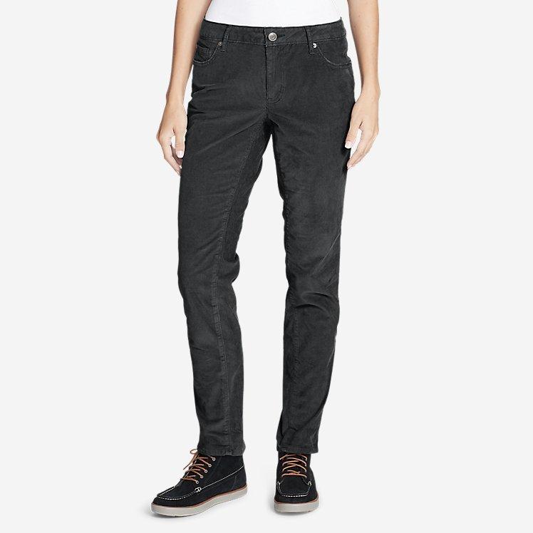 Women's Boyfriend Slim Leg Cord Pants large version