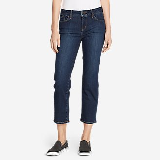 Thumbnail View 1 - Women's Elysian Slim Straight Crop Jeans