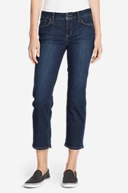 Women's Elysian Slim Straight Crop Jeans