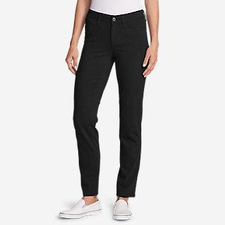 Thumbnail View 1 - Women's Elysian Slim Straight Jeans - Color - Slightly Curvy