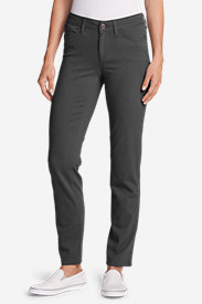 Women's Elysian Slim Straight Jeans - Color - Slightly Curvy