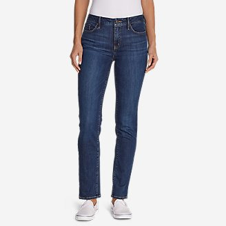 Thumbnail View 1 - Women's Elysian Slim Straight High Rise Jeans