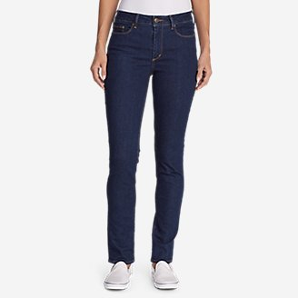 d33426a22e5cc4 Women's Elysian Slim Straight Jeans - Slightly Curvy | Eddie Bauer