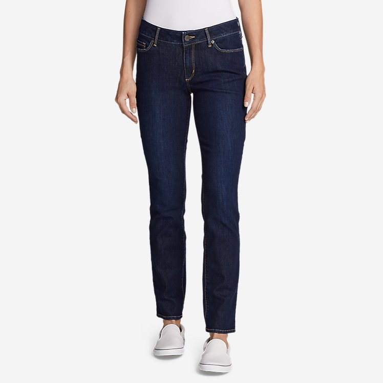 Women's Voyager Slim Straight Jeans - Slightly Curvy large version