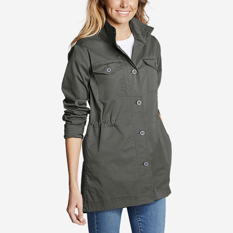 Women's Kick Back Twill Jacket large version