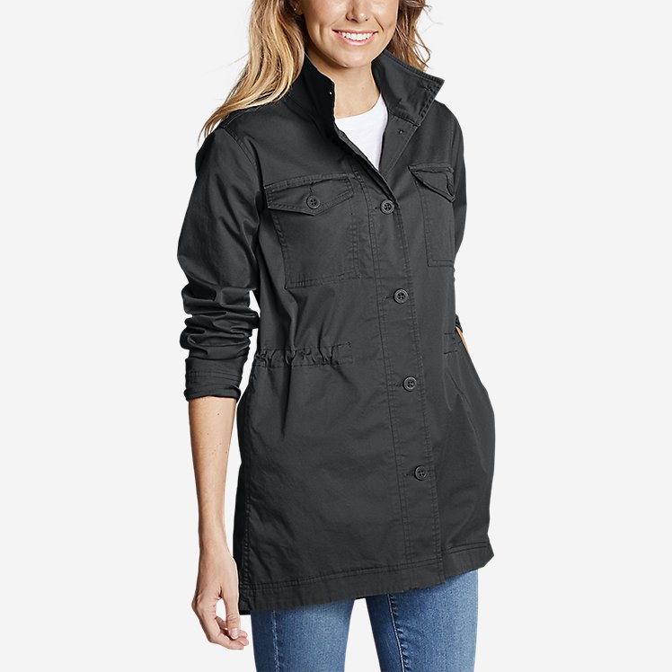 Women's Kick Back Twill Jacket large version