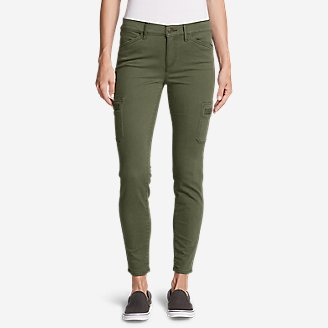 Thumbnail View 1 - Women's Elysian Skinny Cargo Pants - Color, Slightly Curvy