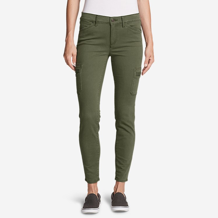 Women's Elysian Skinny Cargo Pants - Color, Slightly Curvy large version