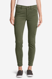 Women's Elysian Skinny Cargo Pants - Color, Slightly Curvy