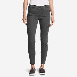 Thumbnail View 1 - Women's Elysian Skinny Cargo Pants - Color, Slightly Curvy