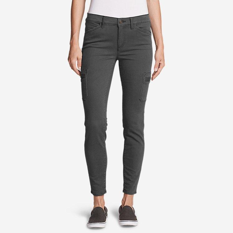 Women's Elysian Skinny Cargo Pants - Color, Slightly Curvy large version