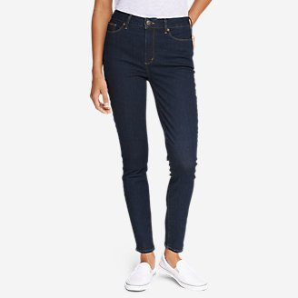 Thumbnail View 1 - Women's StayShape® High-Rise Skinny Jeans - Slightly Curvy