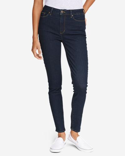 Eddie Bauer Women's StayShape High-Rise Skinny Jeans - Slightly Curvy