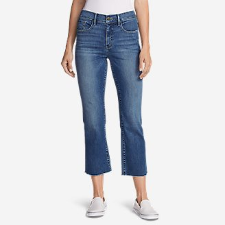 Thumbnail View 1 - Women's Elysian Kick Flare Jeans - Slightly Curvy High-Rise